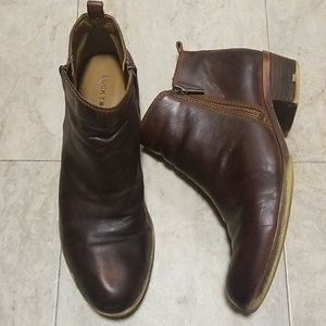Lucky Brand LK Basel Leather Ankle Booties